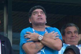 Diego Maradona, Argentina, sujeto que lo dio por muerto, castigo, Rusia 2018
