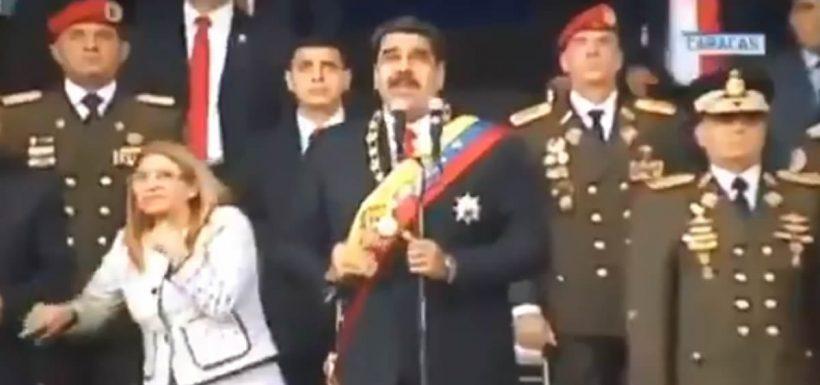 Nicolás Maduro, atentado, drones, Juan Manuel Santos, Colombia